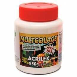 Cola para Decoupage Gel Multcolage 250g - Acrilex
