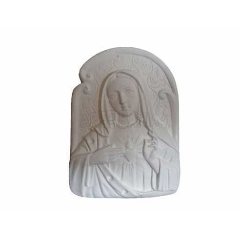 Sagrado Coração de Maria - 6,5x9x1cm