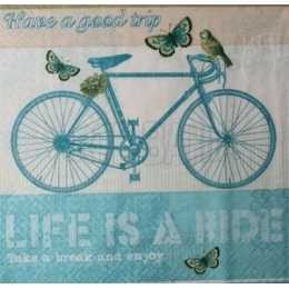 Bicicleta Azul - Life is a Ride (981)