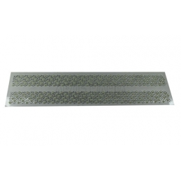 Cartela Adesiva - Pedra Acrílica e Pérola - 2,5cm (210)