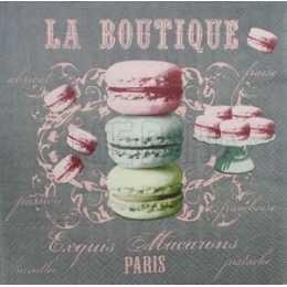 Macarons Verde e Rosa - La Boutique (875)