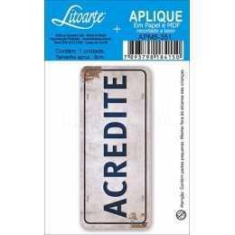 APM8 - 351 - Placa Acredite