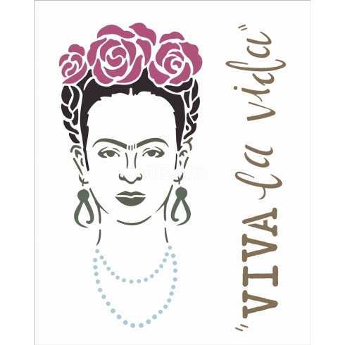 OPA 1179 - Frida Kahlo - 20x25cm