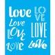 LSG070 - Love - 20x25cm