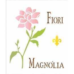 OPA 1446 - Flor Magnólia - 20x25cm