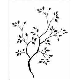 OPA 1235 - Árvore Seca - 20x25cm