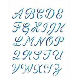 OPA 1398 - Alfabeto Manuscrito - 20x25cm
