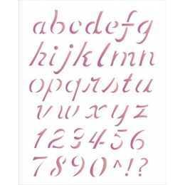 OPA 1399 - Alfabeto Minisculo - 20x25cm