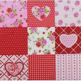 Flores, Corações em Quadros Estampados (13)