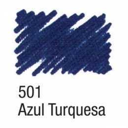 Caneta Para Tecido 501 Azul Turquesa