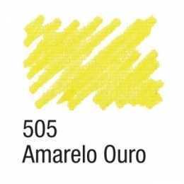 Caneta Para Tecido 505 Amarelo Ouro