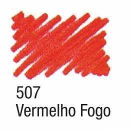 Caneta Para Tecido 507 Vermelho Fogo