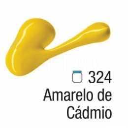 Tinta Acrílica - 324 - Amarelo Cádmio 20ml