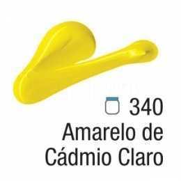 Tinta Acrílica - 340 - Amarelo Cádmio Claro 20ml