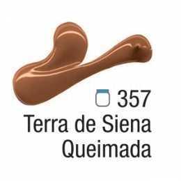 Tinta Acrílica - 357 - Terra de Siena Queimada 20ml
