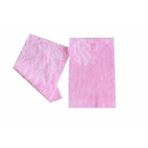Tecido de Pelúcia - Rosa Claro - 18x30cm
