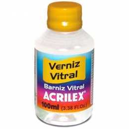 .Verniz Vitral Incolor 100ml - Acrilex