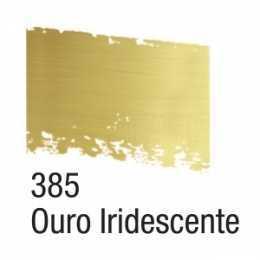 Pátina em Cera 37ml Ouro Iridescente 385 - Acrilex
