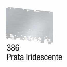 Pátina em Cera 37ml Prata Iridescente 386 - Acrilex