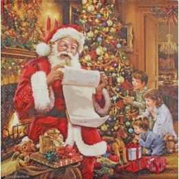 Guardanapo Papai Noel Lendo para Crianças (461)