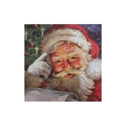 Guardanapo Papai Noel com Carta (834)