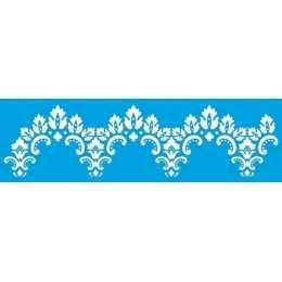 Stencil de Acetato Litoarte 8,4x28,6cm - STE340 - Border