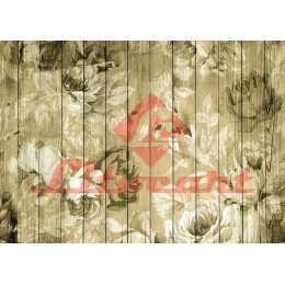 Papel para Decoupage LD901 - Rosas no Tabuado