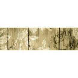 Barra Adesiva para Decoupage LB739 - Rosas no Tabuado