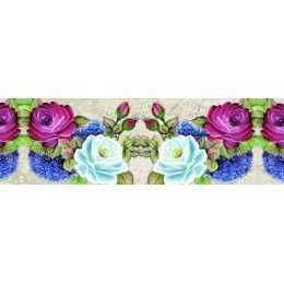Barra Adesiva para Decoupage LB754 - Rosas Coloridas