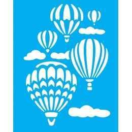 Stencil de Acetato Litocart 20x25cm - LSG125 - Balões