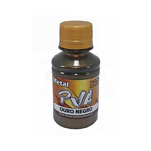 Metal PVA - Ouro Negro 100ml - True Colors