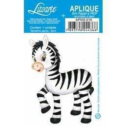 Aplique em Papel e MDF - APM8 - 816 - Zebra Baby