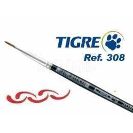 Pincel Tigre 308 2.0 - Pelo de Marta