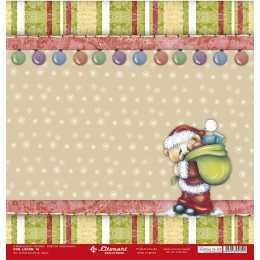 Folha para Scrapbook Simples LSCN-16 - Natal