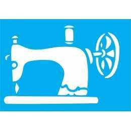 Stencil de Acetato Litocart 20x15cm - LSM098 - Máquina de Costura