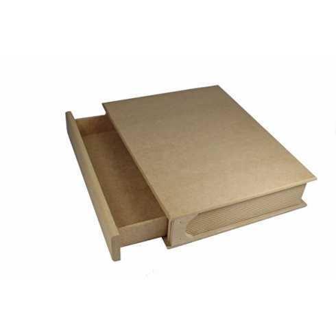 L-Caixa Livro com Gaveta