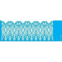 Stencil de Acetato OPA 10X30cm - OPA 2570 - Negativo Renda