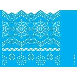 Stencil de Acetato OPA 15x20cm - OPA 2610 - Negativo Renda