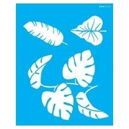 Stencil de Acetato OPA 20X25cm - OPA 2589 - Folhas
