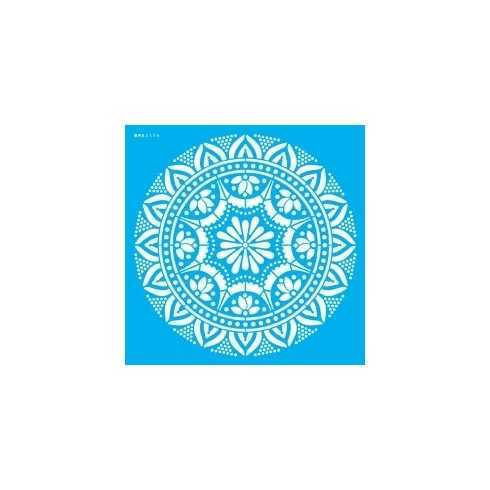 Stencil de Acetato OPA 30,5x30,5cm - OPA 2596 - Mandala