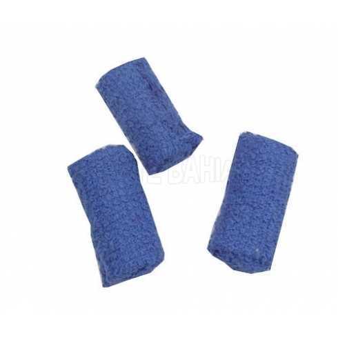Rolinhos Atoalhados - Azul Escuro