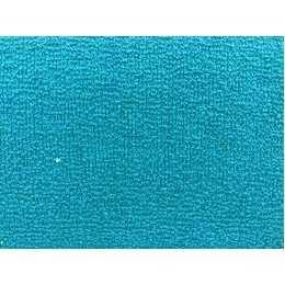 Tecido Atoalhado Azul Turquesa - 35x50cm