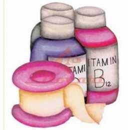 Aplique em Papel e MDF - LMAM033 - Vidros de Vitaminas