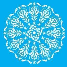 Stencil de Acetato Litocart 25x25cm - LSPQ011 - Mandala