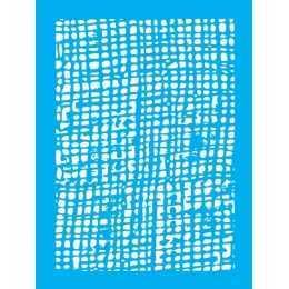 Stencil de Acetato Litocart 20x15cm - LSM028 - Desenho Irregular