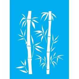 Stencil de Acetato Litocart 20x15cm - LSM078 - Bambú