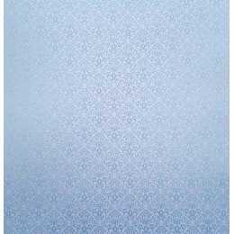 Folha para Scrapbook Perolizado LSCPL019 - Arabesco Azul