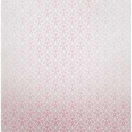 Folha para Scrapbook Perolizado LSCPL018 - Arabesco Rosa