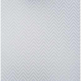 Folha para Scrapbook Perolizado LSCPL022 - Chevron Azul Claro