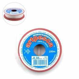 Linha de Nylon 0,35mm Rolo com 100m